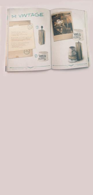 Фото журнала с настольными лампами