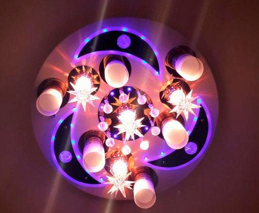 люстра для детской комнаты звездное небо
