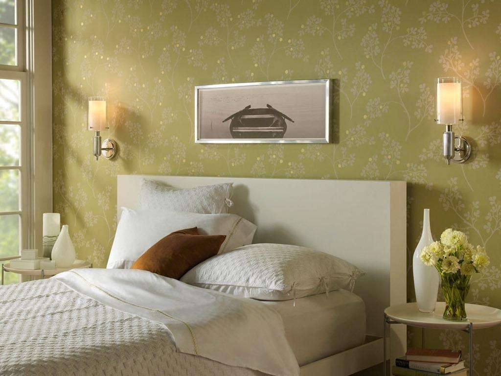 Недорогие бра в спальной