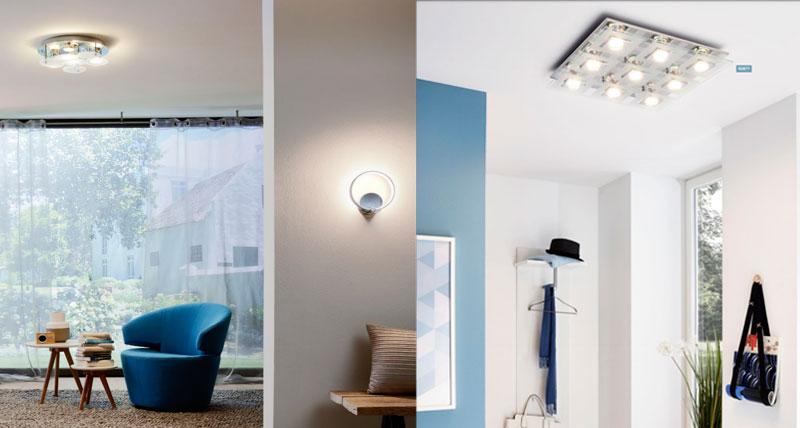 Настенно-потолочные светильники EGLO