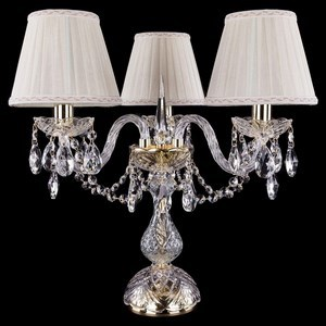 Хрустальные настольные лампы