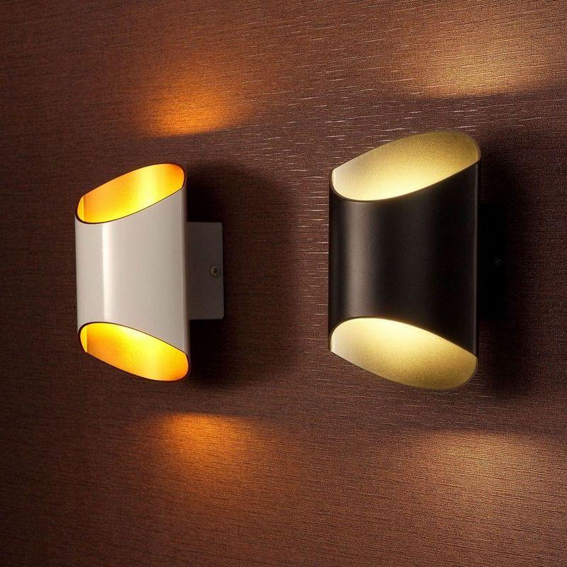 Накладные настенные светильники