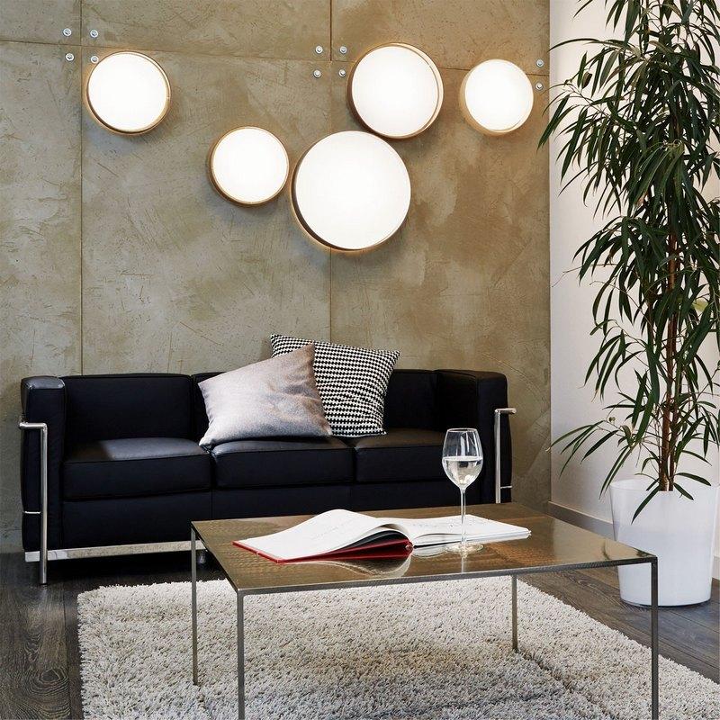 настенно-потолочные светильники (тарелки)