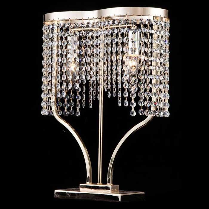 Хрустальная настольная лампа