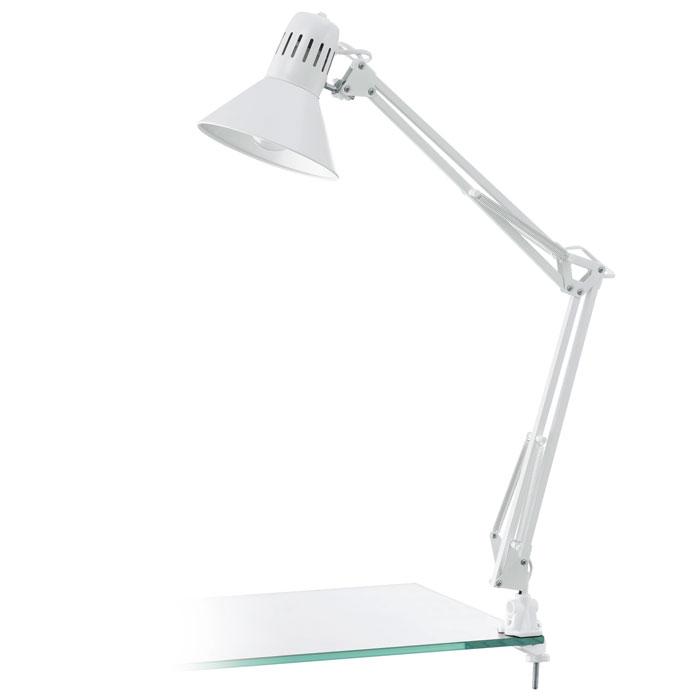 Маникюрная настольная лампа белая