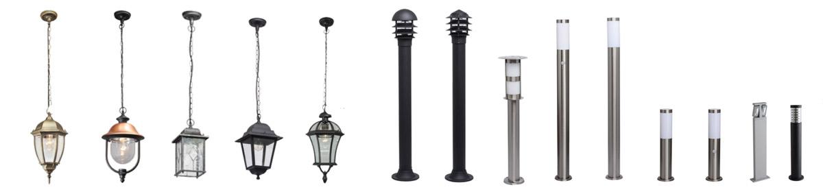 Подвесные светильники и фонарные столбы MW-Light