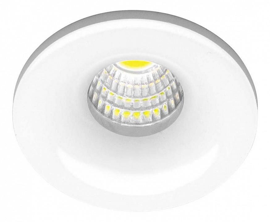 белый встраиваемый светодиодный светильник