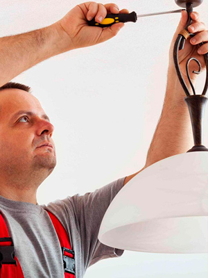 Как правильно вешать светильники