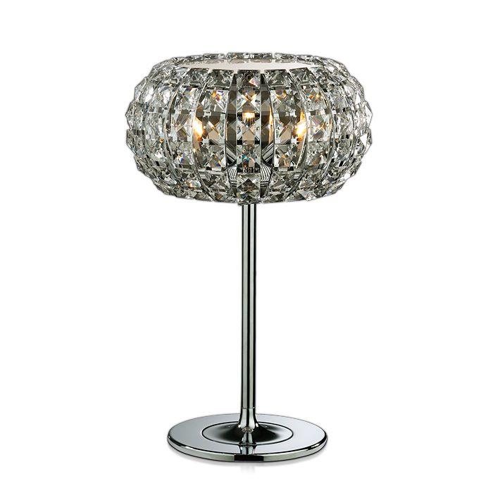 Фото Настольная лампа декоративная Odeon Light Crista 1606/3T