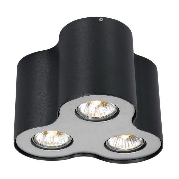 Фото Накладной светильник Arte Lamp Falcon A5633PL-3BK