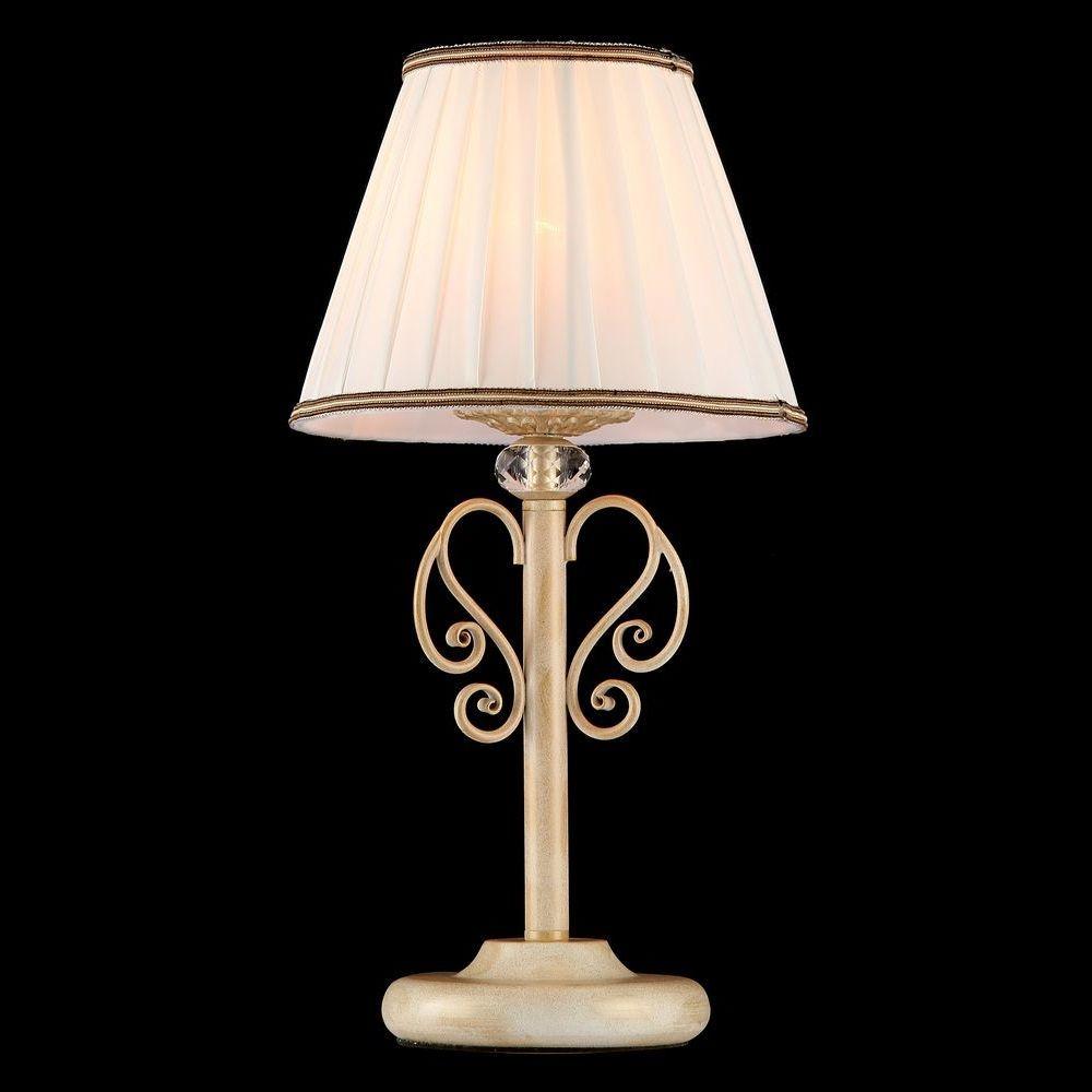 Фото Настольная лампа декоративная Maytoni Vintage ARM420-22-G