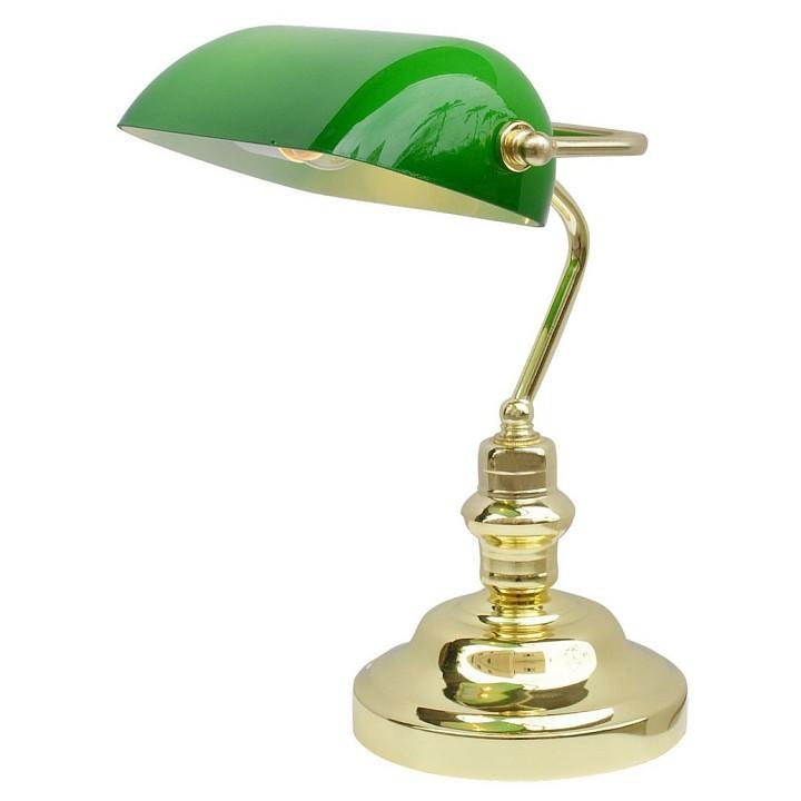 Фото Настольная лампа офисная Arte Lamp Banker A2491LT-1GO