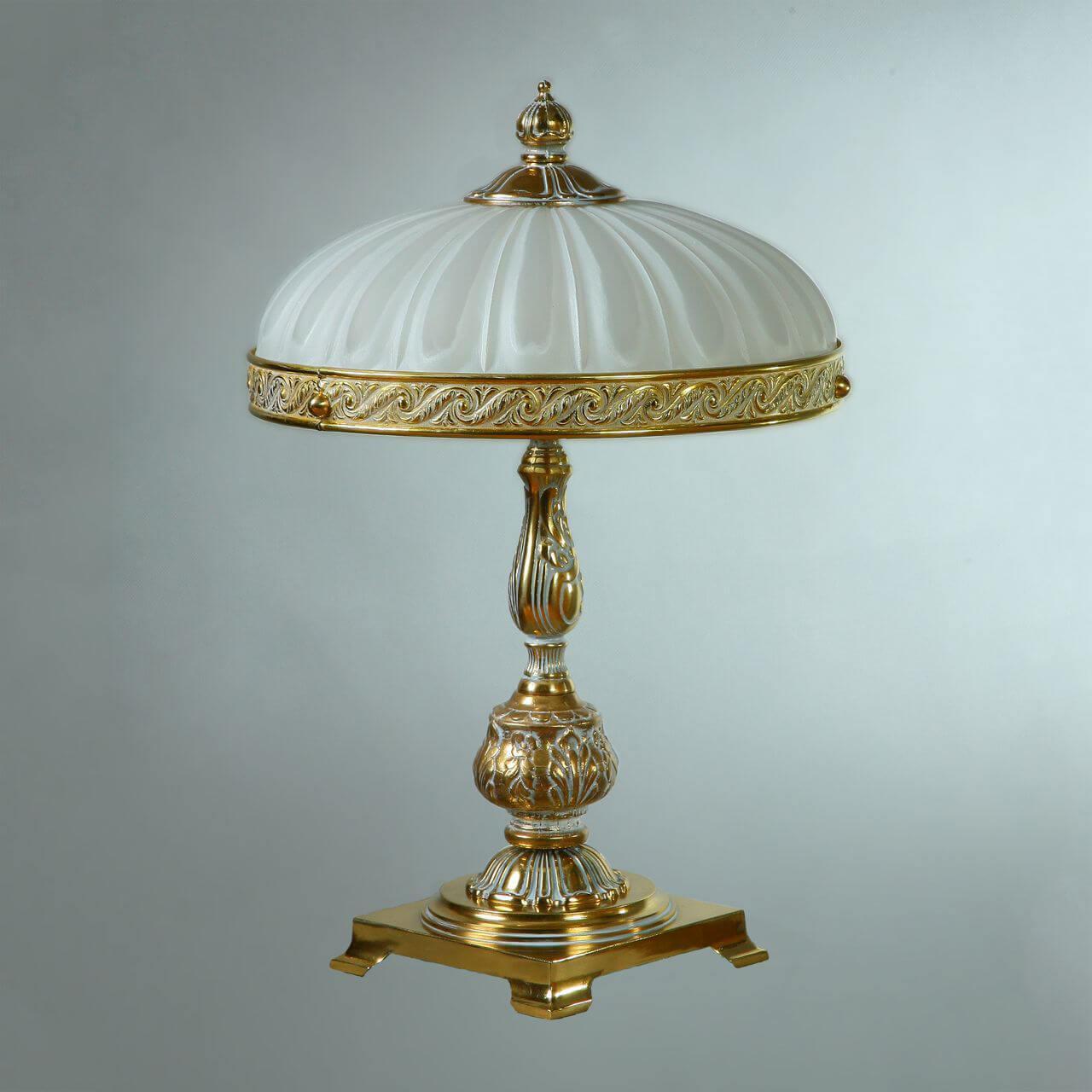 Фото Настольная лампа декоративная Ambiente by Brizzi Navarra 02228T/3 WP