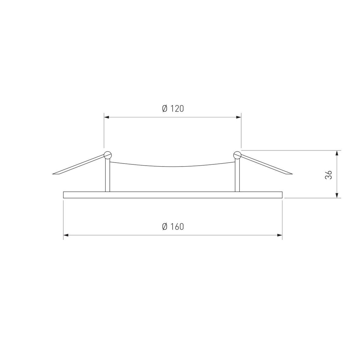 Дополнительное фото 2 товара Встраиваемый светильник Elektrostandard Downlight a031834