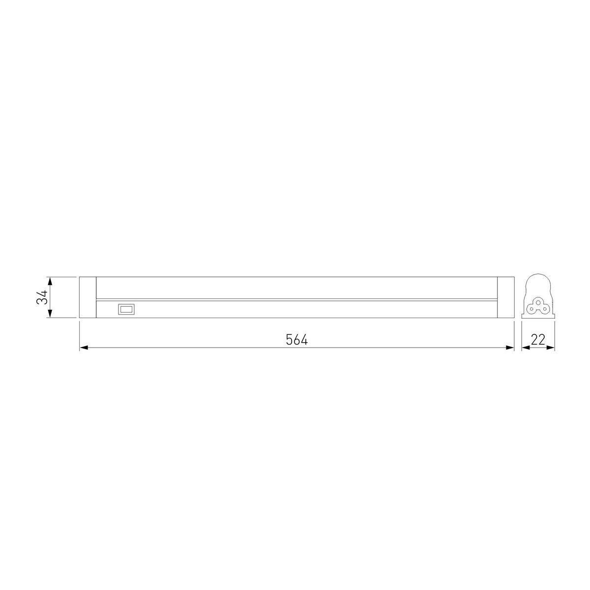 Дополнительное фото 5 товара Накладной светильник Led Stick a033733