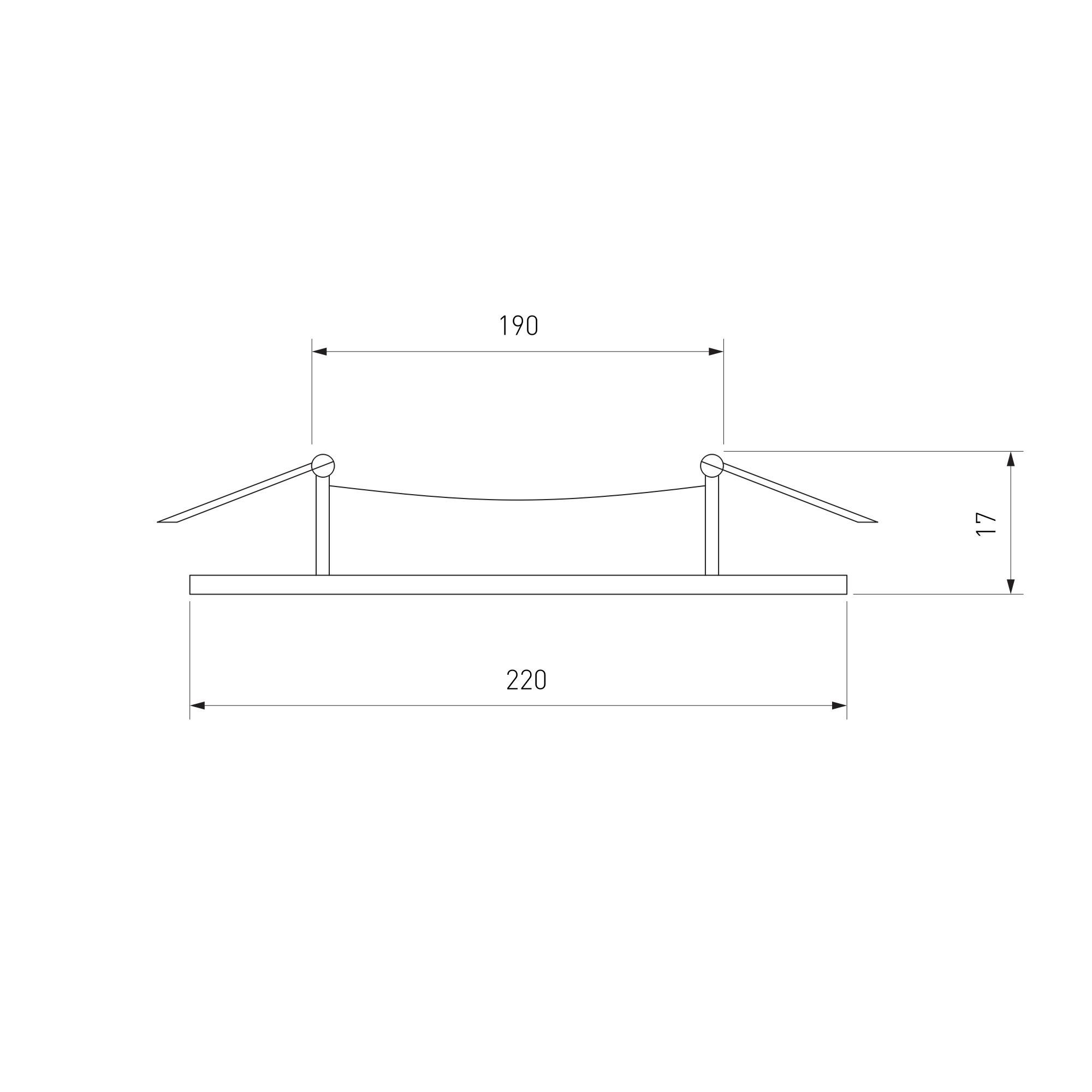 Дополнительное фото 1 товара Встраиваемый светильник Elektrostandard Downlight a034918