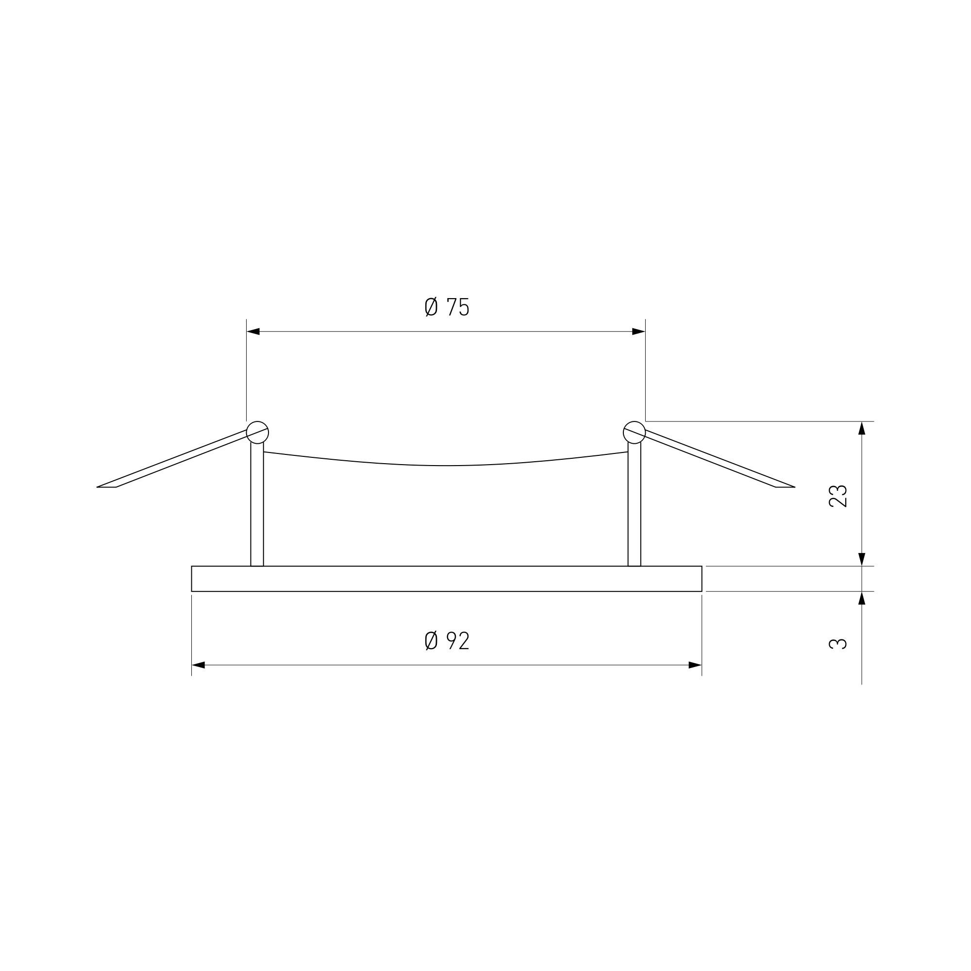 Дополнительное фото 1 товара Встраиваемый светильник Elektrostandard 1061 a036415