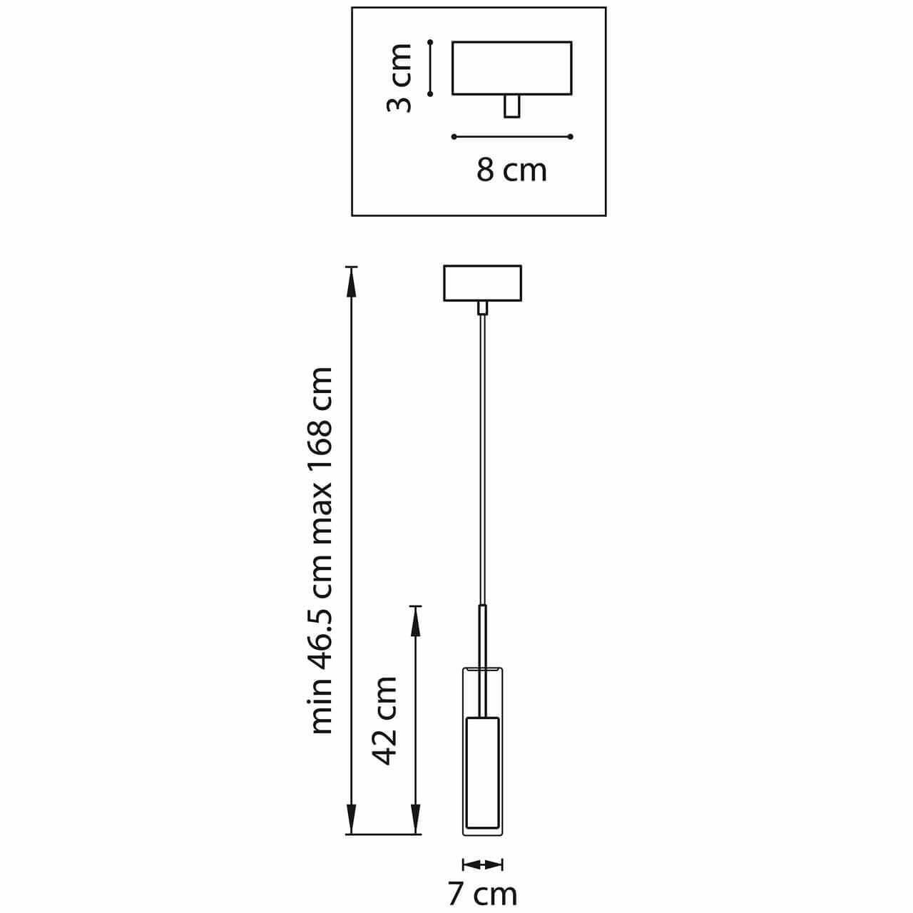 Дополнительное фото 2 товара Подвесной светильник Cilino 756017