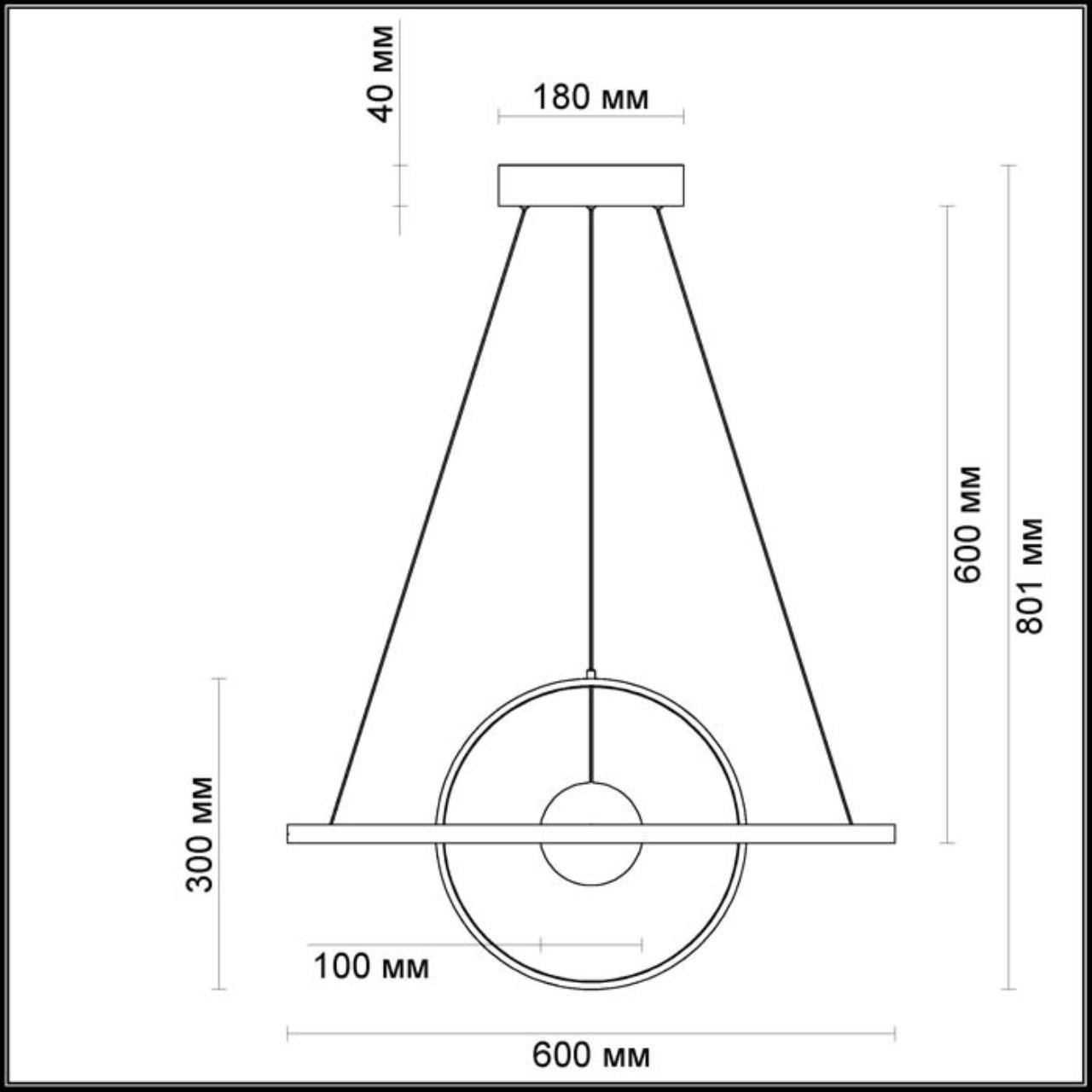 Дополнительное фото 1 товара Подвесной светильник Odeon Light Lond 4031/40L