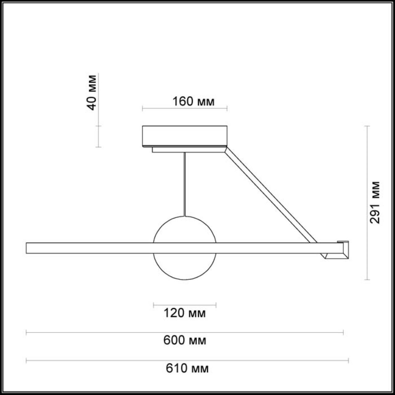 Дополнительное фото 1 товара Накладной светильник Odeon Light Lond 4032/40CL