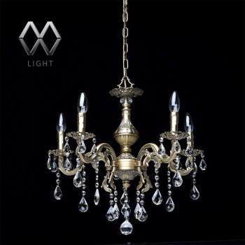 Подвесная люстра MW-Light Свеча 15 301017605