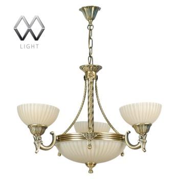 Подвесная люстра MW-Light Афродита 1 317010406