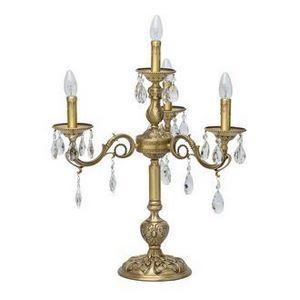 Настольная лампа декоративная Chiaro Паула 9 411032704