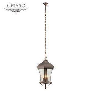 Уличный подвесной светильник Chiaro Шато 1 800010404