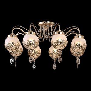 Потолочная люстра Arte Lamp Moroccana A4552PL-8GO