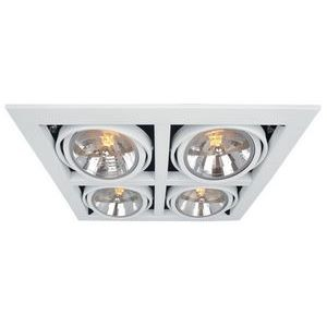 Встраиваемый светильник Arte Lamp Cardani A5935PL-4WH
