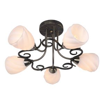 Потолочная люстра Arte Lamp Swirls A6253PL-5BA