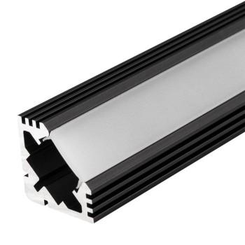 Профиль PDS45-T-2000 ANOD Black 015033