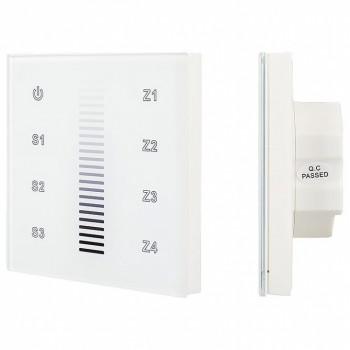 Сенсорный диммер Sens SR-2830A-RF-IN White (220V,DIM,4 зоны) 017858