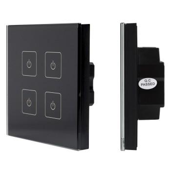 Сенсорные диммеры SR-2400TL-IN Black (DALI, DIM) 019471