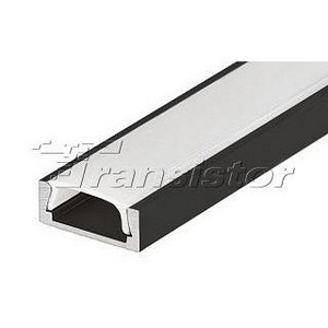 Профиль Arlight MIC-2000 черный RAL9005 20235