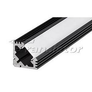 Профиль Arlight PDS45-T-2000 ANOD черный RAL9005 20897