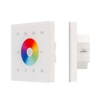 Сенсорный диммер Sens SR-2820B-AC-RF-IN White (220V,RGBW,1 зона) 021038