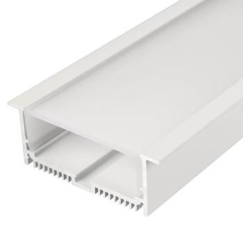 Профиль Arlight SL-LINIA88-F-2500 белый+OPAL 21373