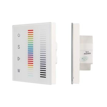 Сенсорный диммер Sens SR-2834RGBW-AC-RF-IN White (220V,RGBW,1 зона) 022196