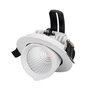Встраиваемый светильник Arlight Ltd-Explorer LTD-EXPLORER-R100-12W Warm3000 (WH, 38 deg)