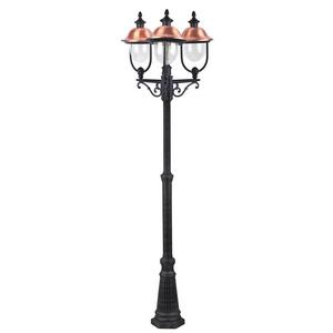 Фонарный столб Arte Lamp Barcelona A1486PA-3BK