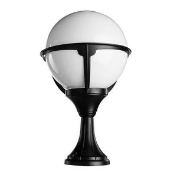 Наземный низкий светильник Arte Lamp Monaco A1494FN-1BK