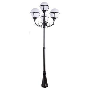 Фонарный столб Arte Lamp Monaco A1497PA-4BK