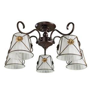 Люстра на штанге Arte Lamp Fortuna A5495PL-5BR