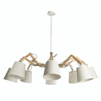 Подвесная люстра Arte Lamp Pinocchio A5700LM-8WH