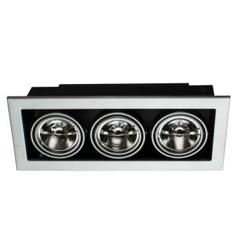 Встраиваемый светильник Arte Lamp Technika 2 A5930PL-3SI