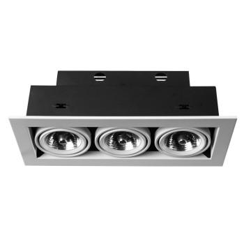 Встраиваемый светильник Arte Lamp Technika 2 A5930PL-3WH