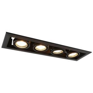 Встраиваемый светильник Arte Lamp A5941 A5941PL-4BK