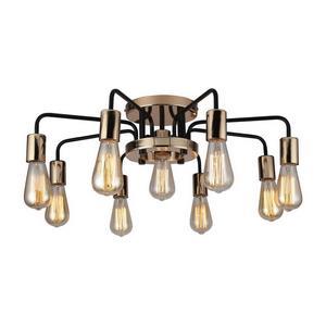 Потолочная люстра Arte Lamp 6001 A6001PL-9BK