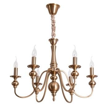 Подвесная люстра Arte Lamp Passoni A6097LM-6PB